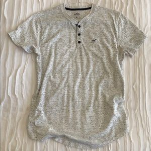 Hollister Henley Tee. Size Small